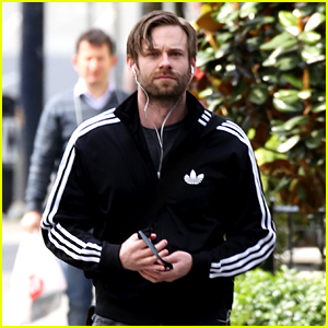 Fifty Shades' Eric Johnson Steps Out in Vancouver