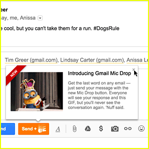 Google's Gmail Mic Drop Prank for April Fool's 2016 Removed