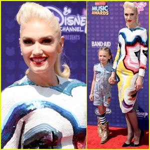 Gwen Stefani Brings Her Niece Stella to RDMA 2016