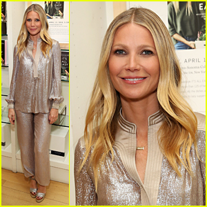 Gwyneth Paltrow Shimmers at 'It's All Easy' Book Signing in NYC