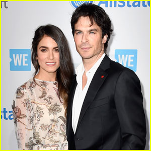 Ian Somerhalder & Nikki Reed Couple Up for WE Day 2016!