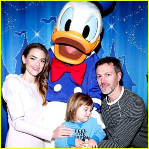 Jaime King Takes a Family Trip to Disneyland!
