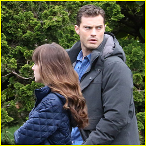 Jamie Dornan & Dakota Johnson Are Still Hard at Work on 'Fifty Shades Darker'!