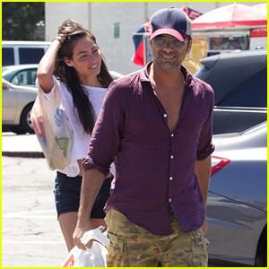 John Stamos & Rumored Girlfriend Caitlin McHugh Keep it Casual