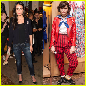 Jordana Brewster & Soko Celebrate Marc Jacobs #PatchMarc Line