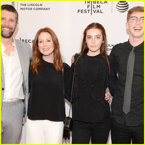 Julianne Moore Brings Her Whole Family to 'Wolves' Premiere