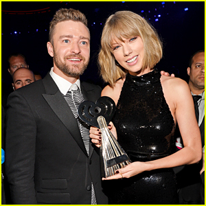 Justin Timberlake Pays Tribute to Taylor Swift at iHeartRadio Music Awards 2016! (Video)
