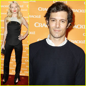 Kate Bosworth & Adam Brody Step Out for 'Crackle' Upfront