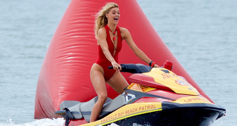 jetski bikini model Kelly Rohrbach Shows Off Her Jet Ski Skills on 'Baywatch' Set | Ilfenesh Hadera, Kelly Rohrbach : Just Jared