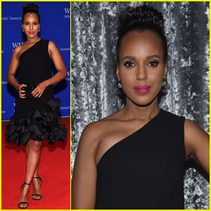 Kerry Washington is All About the Ruffles at White House Correspondents' Dinner 2016