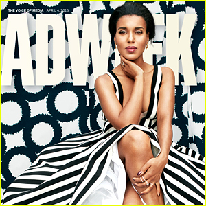 Kerry Washington Reacts to Being Photoshopped on 'Adweek'