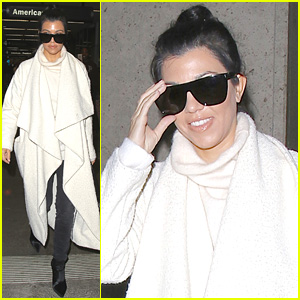 Kourtney Kardashian Enlisted Khloe to Babysit While She Was Away!