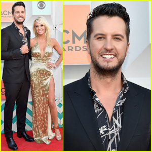 Luke Bryan Brings Wife Caroline Boyer to ACM Awards 2016