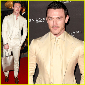 Luke Evans Celebrates Birthday At Bulgari London Flagship Reopening!