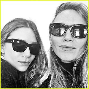 Mary-Kate & Ashley Olsen Share First Public Selfie on Instagram!