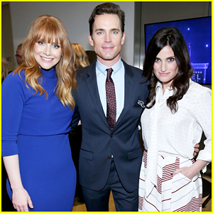 Matt Bomer, Bryce Dallas Howard & Idina Menzel Buddy Up At 'Reel Stories, Real Lives' MPTF Benefit!