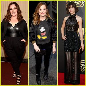 Melissa McCarthy & Amy Poehler Win at MTV Movie Awards 2016