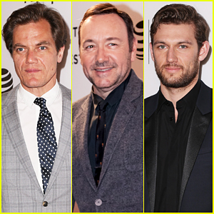 Michael Shannon & Kevin Spacey Premiere 'Elvis & Nixon' At Tribeca Film Festival 2016!
