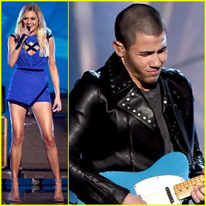 Kelsea Ballerini & Nick Jonas' ACM Awards 2016 Performance Video - Watch Now!