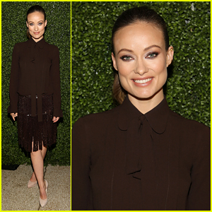 Olivia Wilde Honors Designer Michael Kors With Leadership Award
