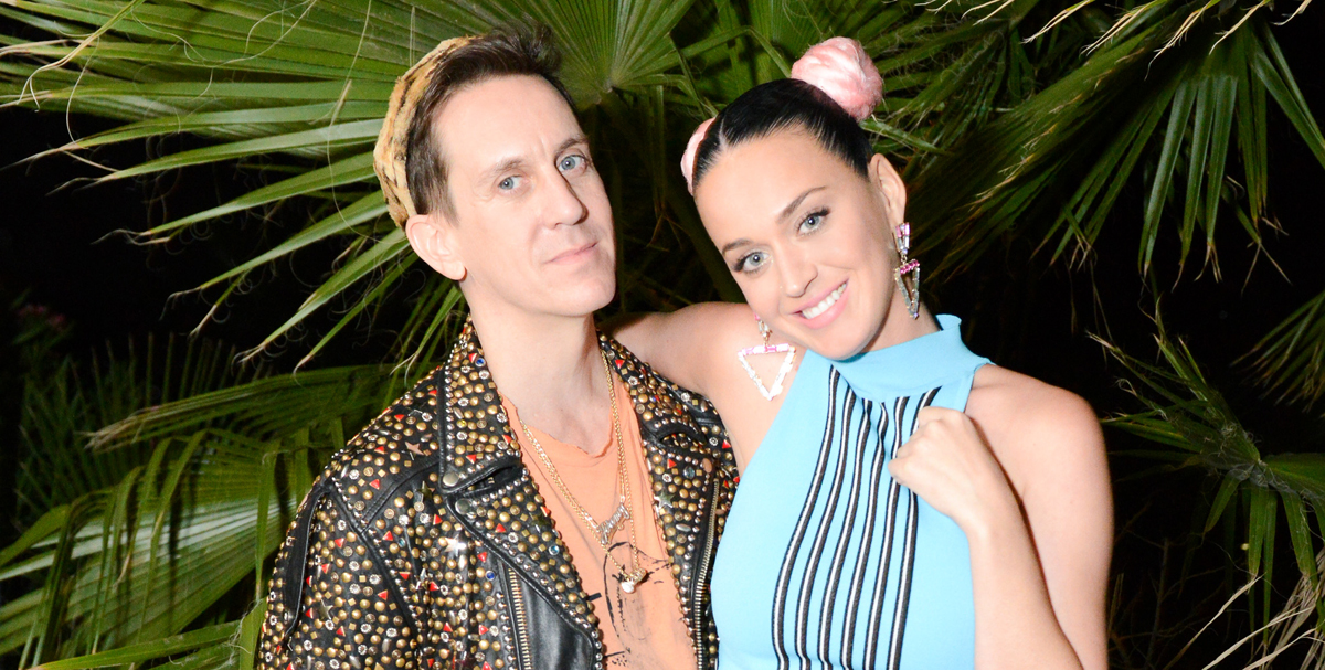 Katy Perry Celebrates With Jeremy Scott At Coachella Party