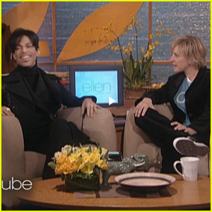 Ellen DeGeneres Recalls Prince's Rare Appearance on Season One of Her Show (Video)