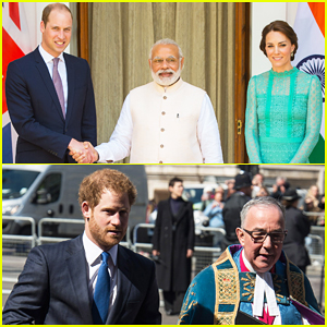 Prince William & Kate Middleton Meet Prime Minister Narendra Modi During Royal Visit to India!