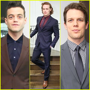 Rami Malek, Sam Heughan, & Jake Lacy Suit Up for Mr. Burberry