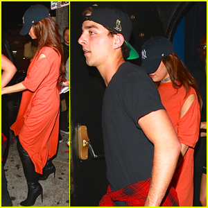 Selena Gomez Holds Hands With Guy Friend a The Roxy