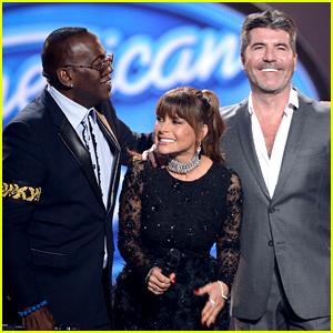 Simon Cowell, Paula Abdul, & Randy Jackson Reunite at 'American Idol' Finale! (Video)