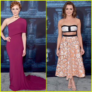 Sophie Turner & Maisie Williams Join Co-Stars at 'Game of Thrones' Premiere!