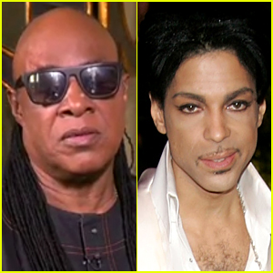 Stevie Wonder Reacts to Prince's Death, Plays 'Purple Rain'