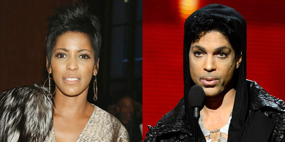 Tamron hall dating prince