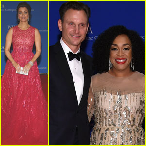 Bellamy Young & Tony Goldwyn Hang With 'Scandal' Cast at White House Correspondents' Dinner 2016