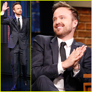 Aaron Paul Reveals The Awesome Prop He Took from 'Breaking Bad' (Video)!