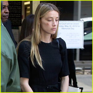 Amber Heard Leaves Court with Bruised Face, Granted Restraining Order Against Johnny Depp