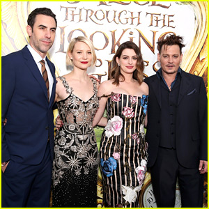 Anne Hathaway & Johnny Depp Premiere 'Alice' in Hollywood!