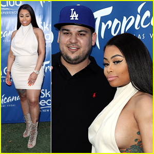 Rob Kardashian & Pregnant Blac Chyna Kick Off Memorial Weekend