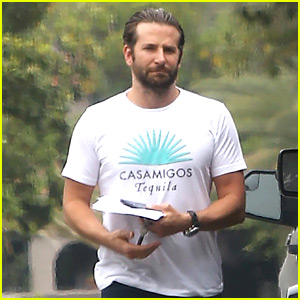 Bradley Cooper's Motorcycle Gets Towed Away