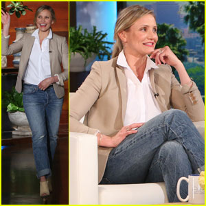 Cameron Diaz Opens Up About Married Life on 'Ellen' (Video)