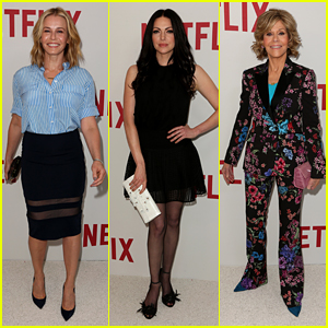 Chelsea Handler, Laura Prepon & Jane Fonda Celebrate Rulebreakers at Netflix Event