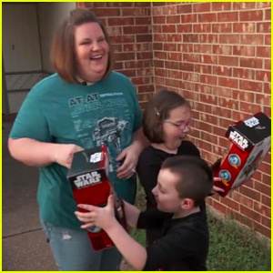 Chewbacca Lady & Her Kids Get More Masks from Kohl's (Video)