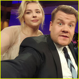Chloe Moretz Gushes Over Brooklyn Beckham on James Corden