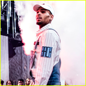 Chris Brown Performs a Pop Up Concert in Cannes