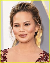 Chrissy Teigen Breastfeeds Baby Luna on Set - See the Pics!