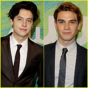 Cole Sprouse & KJ Apa Bring 'Riverdale' to CW Upfronts 2016