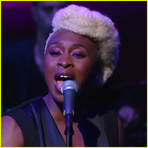 Cynthia Erivo Belts Out 'I'm Here' from 'Color Purple' on 'Late Show' - Watch Now!