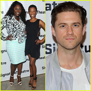 Danielle Brooks Supports Samira Wiley at 'Daphne's Dive' Opening Night Party!