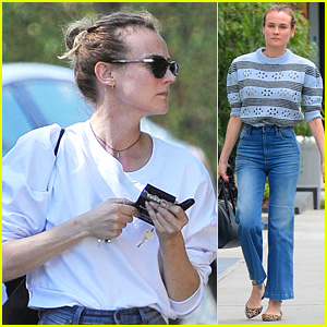 Diane Kruger Shares an Interesting Theory About Her Cat