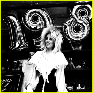 Dianna Agron Dresses Up as David Bowie for 30th Birthday Bash